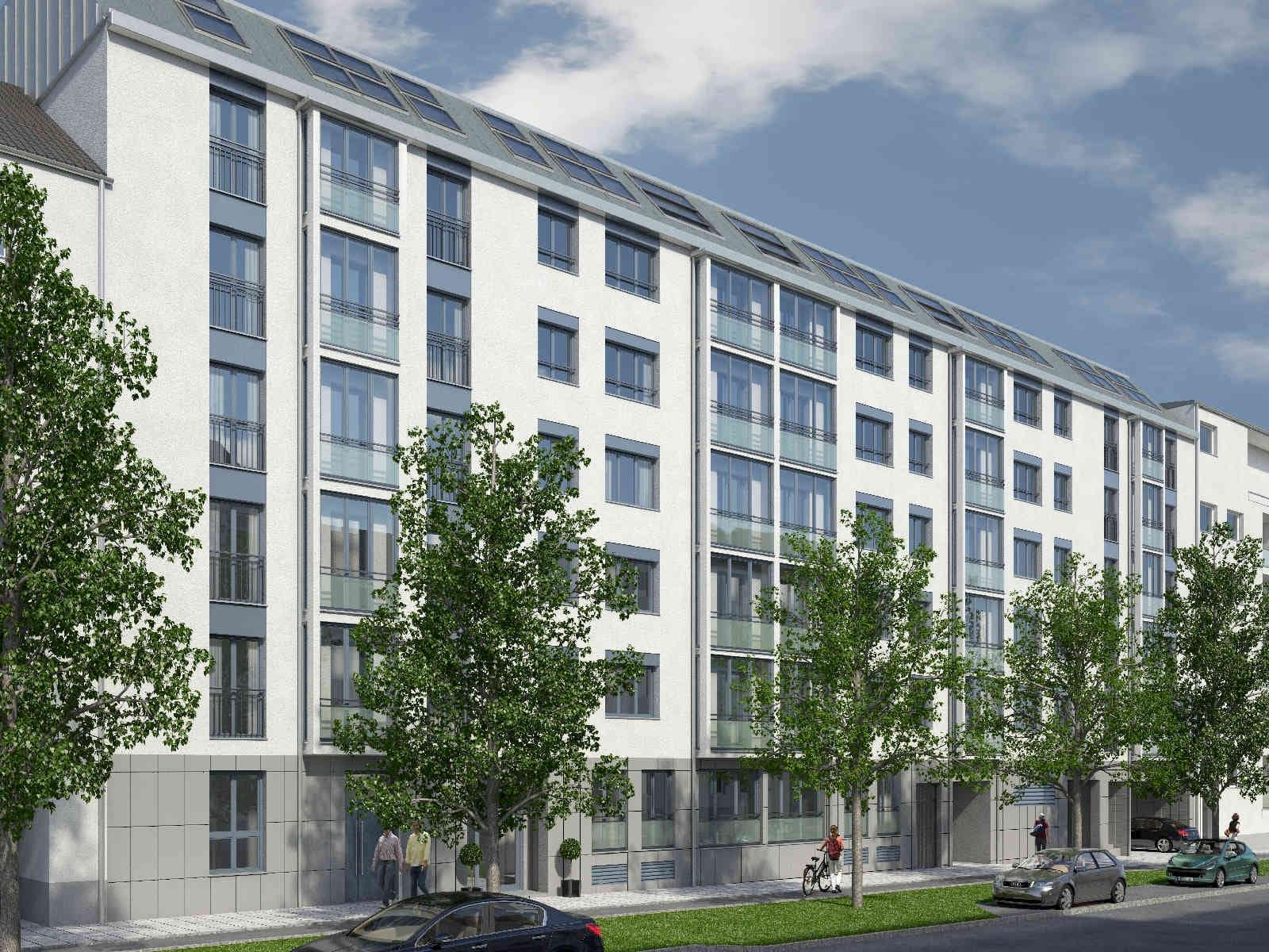 Will Architekten Visualisierung Projekt Schleissheimer Straße